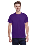 Purple Classic Cotton T as seen from the front