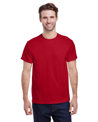 Red Classic Cotton T as seen from the front