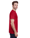 Red Classic Cotton T as seen from the sleeveleft