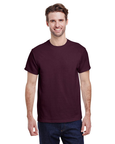 Russet Classic Cotton T as seen from the front