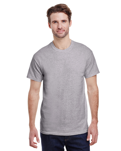 Sport Grey Classic Cotton T as seen from the front