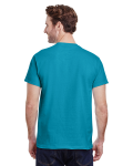 Tropical Blue Classic Cotton T as seen from the back