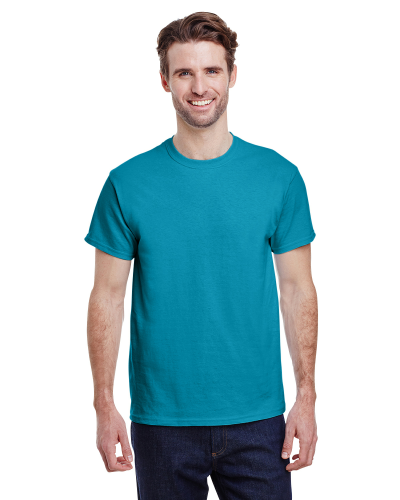 Tropical Blue Classic Cotton T as seen from the front