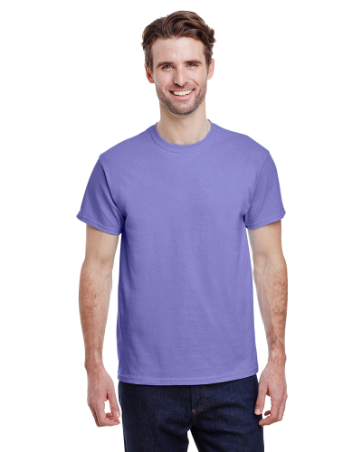 Violet Classic Cotton T as seen from the front