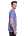 Violet Classic Cotton T as seen from the sleeveleft