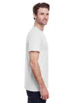 White Classic Cotton T as seen from the sleeveleft
