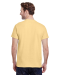 Yellow Haze Classic Cotton T as seen from the back