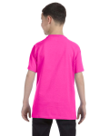 Azalea Classic Cotton  Youth T as seen from the back