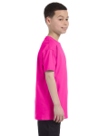 Azalea Classic Cotton  Youth T as seen from the sleeveleft