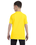 Daisy Classic Cotton  Youth T as seen from the back