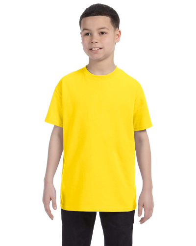 Daisy Classic Cotton  Youth T as seen from the front