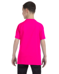 Heliconia Classic Cotton  Youth T as seen from the back