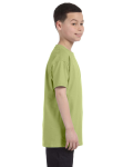 Kiwi Classic Cotton  Youth T as seen from the sleeveleft