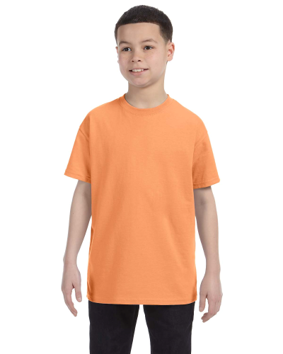Old Gold Classic Cotton  Youth T as seen from the front