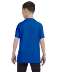 Royal Classic Cotton  Youth T as seen from the back
