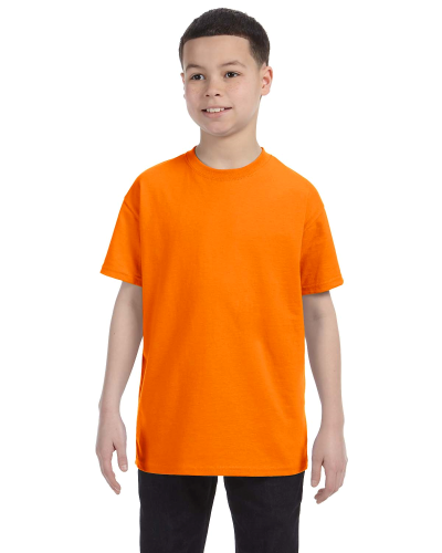 Tennessee Orange Classic Cotton  Youth T as seen from the front
