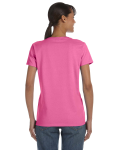 Azalea Classic Cotton Ladies' Missy Fit T-Shirt as seen from the back