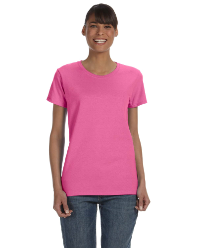 Azalea Classic Cotton Ladies' Missy Fit T-Shirt as seen from the front