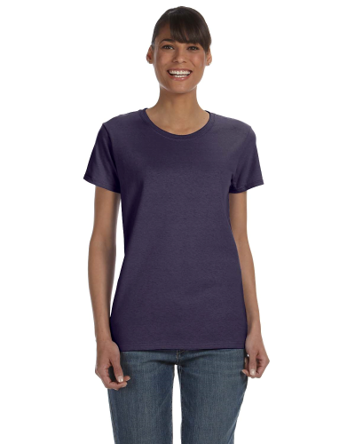 Blackberry Classic Cotton Ladies' Missy Fit T-Shirt as seen from the front