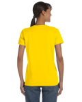 Daisy Classic Cotton Ladies' Missy Fit T-Shirt as seen from the back