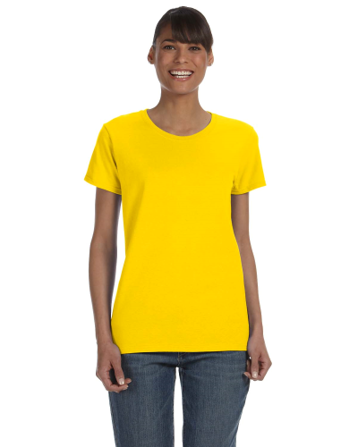Daisy Classic Cotton Ladies' Missy Fit T-Shirt as seen from the front