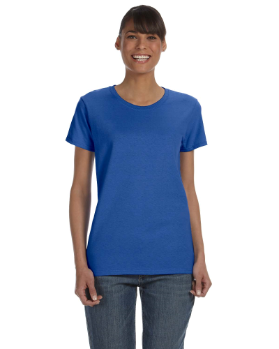 Royal Classic Cotton Ladies' Missy Fit T-Shirt as seen from the front