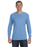 Carolina Blue Classic Cotton Long-Sleeve T as seen from the front