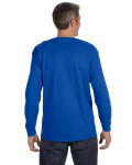 Royal Classic Cotton Long-Sleeve T as seen from the back