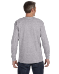 Sport Grey Classic Cotton Long-Sleeve T as seen from the back