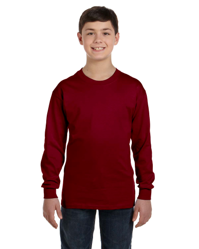 Classic Cotton Youth Long-Sleeve T