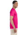 Antique Heliconia SoftStyle T as seen from the sleeveleft