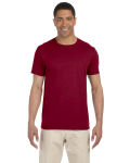 Antque Cherry Red SoftStyle T as seen from the front