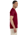 Antque Cherry Red SoftStyle T as seen from the sleeveleft