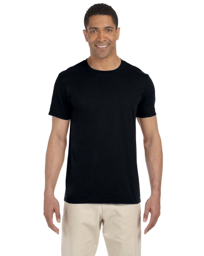 Black SoftStyle T as seen from the front
