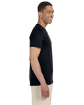 Black SoftStyle T as seen from the sleeveleft