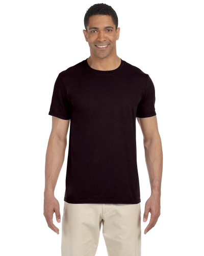 Dark Chocolate SoftStyle T as seen from the front