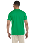 Irish Green SoftStyle T as seen from the back