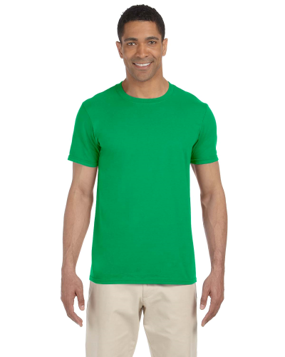 Irish Green SoftStyle T as seen from the front