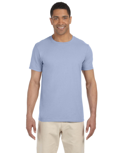 Light Blue SoftStyle T as seen from the front