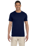 Navy SoftStyle T as seen from the front