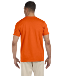 Orange SoftStyle T as seen from the back