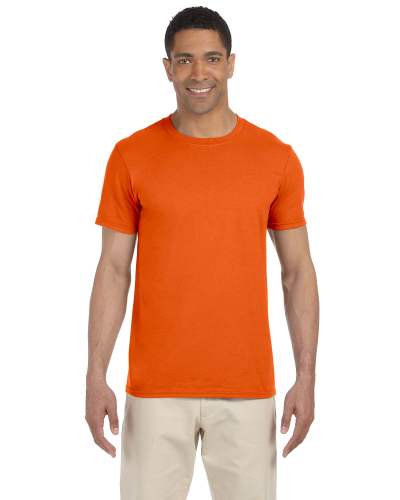 Orange SoftStyle T as seen from the front