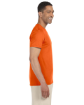 Orange SoftStyle T as seen from the sleeveleft