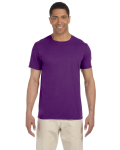 Purple SoftStyle T as seen from the front