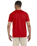 Red SoftStyle T as seen from the back