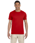 Red SoftStyle T as seen from the front