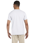 White SoftStyle T as seen from the back