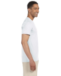 White SoftStyle T as seen from the sleeveleft