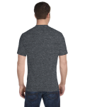 Dark Heather Classic 50/50 Blend as seen from the back
