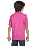 Azalea Youth DryBlend 5.6 oz., 50/50 T-Shirt as seen from the back